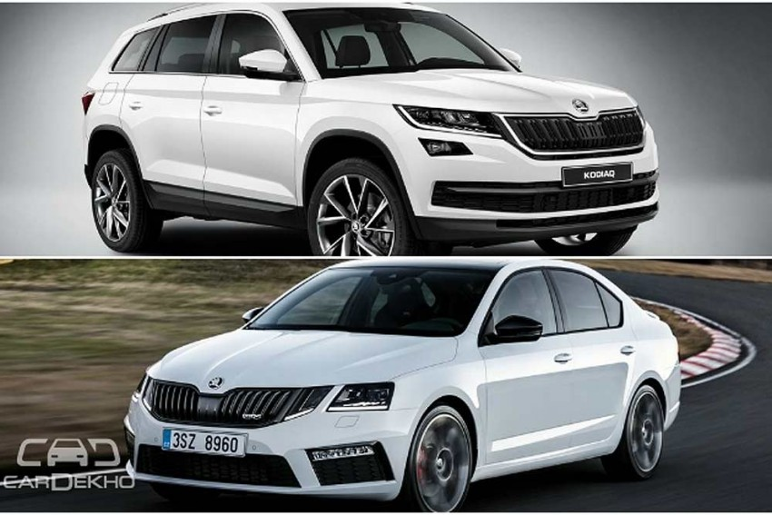 Skoda To Launch Kodiaq In Q4-2017, Octavia RS Coming In August 2017