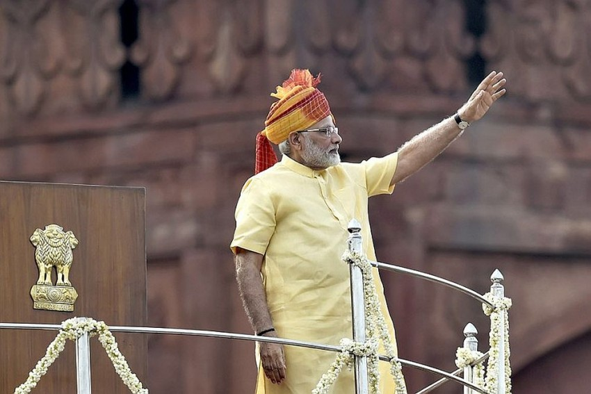Longest Independence Day Speech Last Year, Modi Keeps His Promise, Delivers His Shortest I-Day Speech