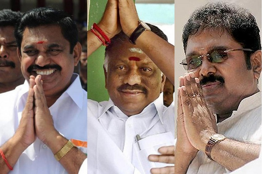 OPS Vs EPS Vs TTV: A Raging Battle Among Initials In AIADMK