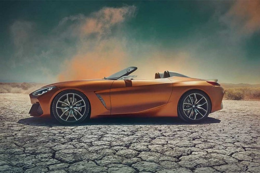 BMW Z4 Roadster Concept Unveiled; Production Likely To Start Next Year