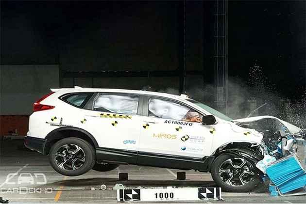All-New Honda CR-V Scores 5-Star Rating In ASEAN Crash Tests