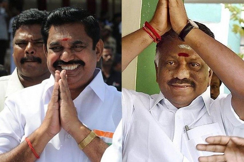 OPS, EPS Might End Feud, Announce 'Good Decision' Of AIADMK Merger Today