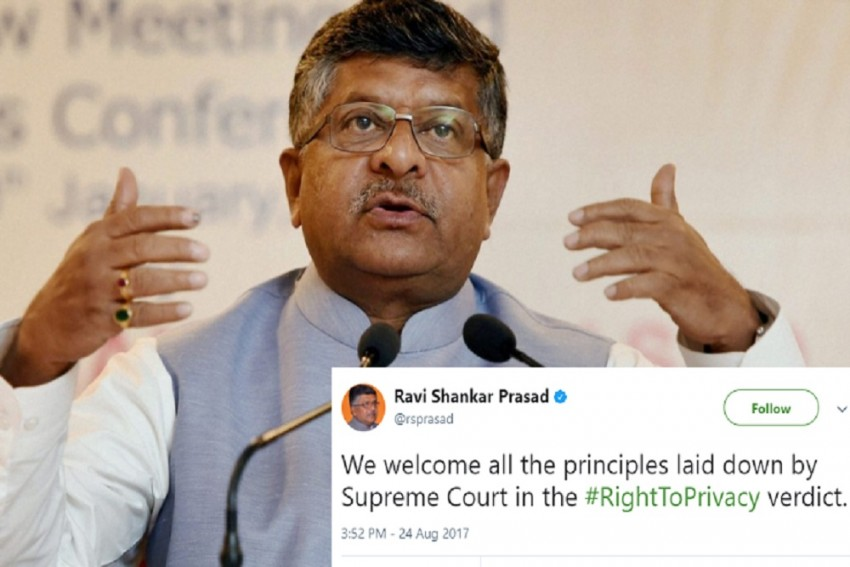 Government Welcomes SC's Verdict But Maintains Privacy Not Absolute Right