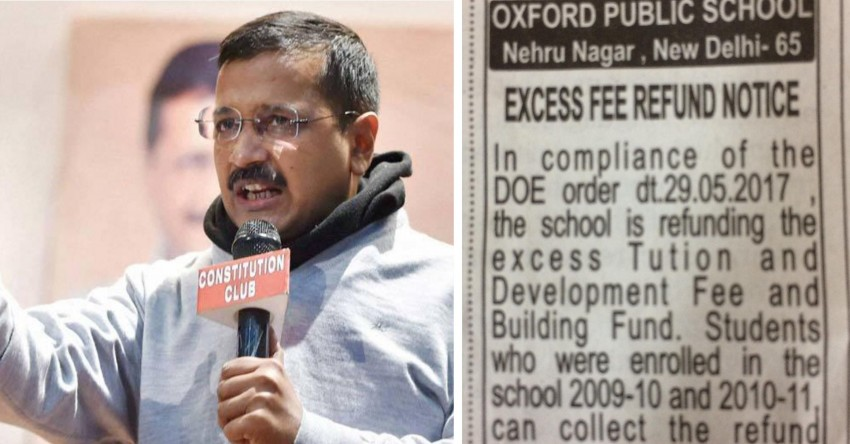 After Kejriwal's Takeover Threat, Delhi Schools Grudgingly Ask Parents To Come And Take Extra-Fee Refunds