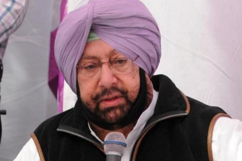 Everything Was Peaceful In Punjab, Says CM Amarinder Singh