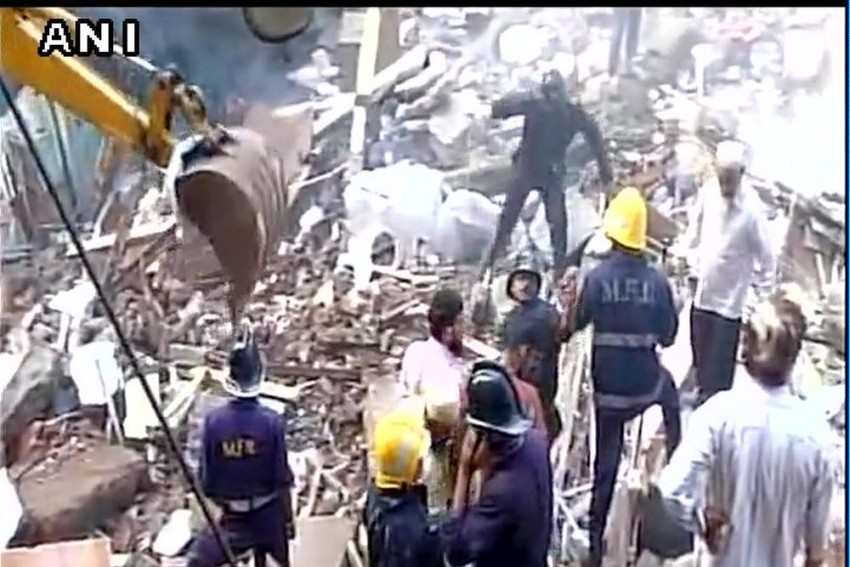 Five-Storey Building Collapses In Mumbai's Bhendi Bazaar, 19 Killed, 25 Rescued
