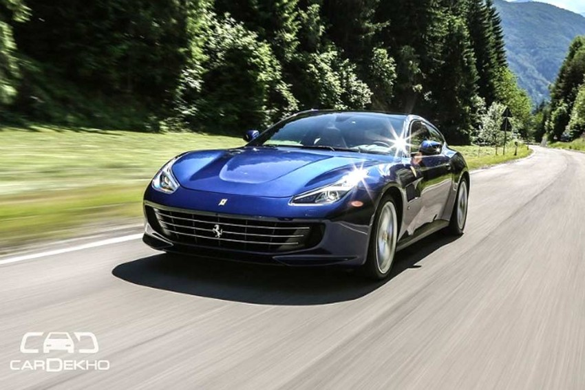 Ferrari GTC4Lusso T Launched At Rs 4.2 Crore