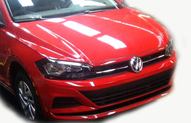 Next Gen Volkswagen Vento Spied Undisguised