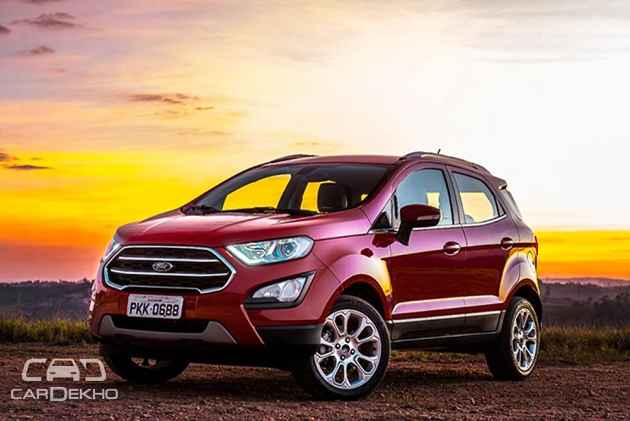 Ford Ecosport Facelift What To Expect
