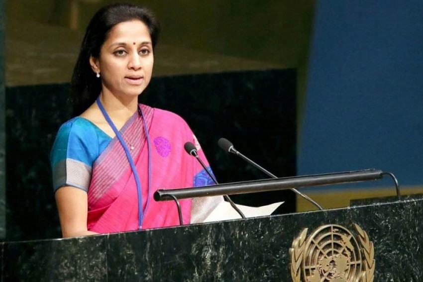 PM Offered Supriya A Cabinet Berth, But She Told Modi She Would Be The Last To Join BJP, Claims Sena MP Quoting Pawar