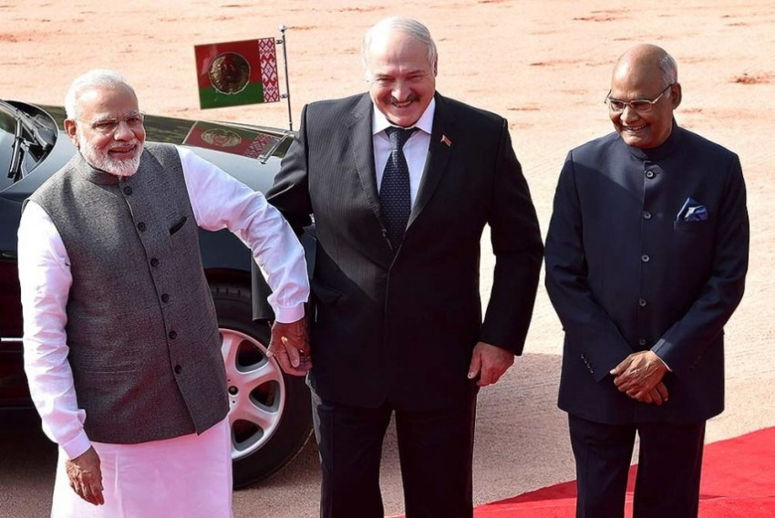 India, Belarus Sign 10 Pacts, To Expand Military Cooperation