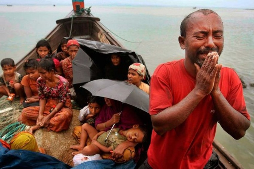 Bangladesh Plans To Move Reluctant Rohingya Refugees To Remote Island That Floods Every Year