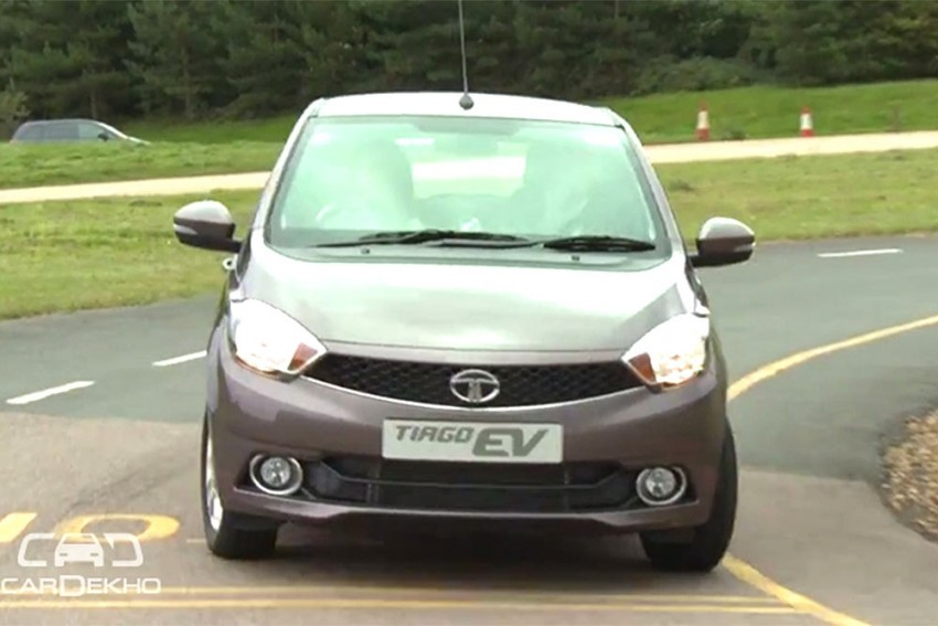 Tata Motors Showcases Tiago EV