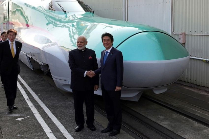 Bullet Train Is An Example Of Misplaced Priority: Congress Slams PM Modi