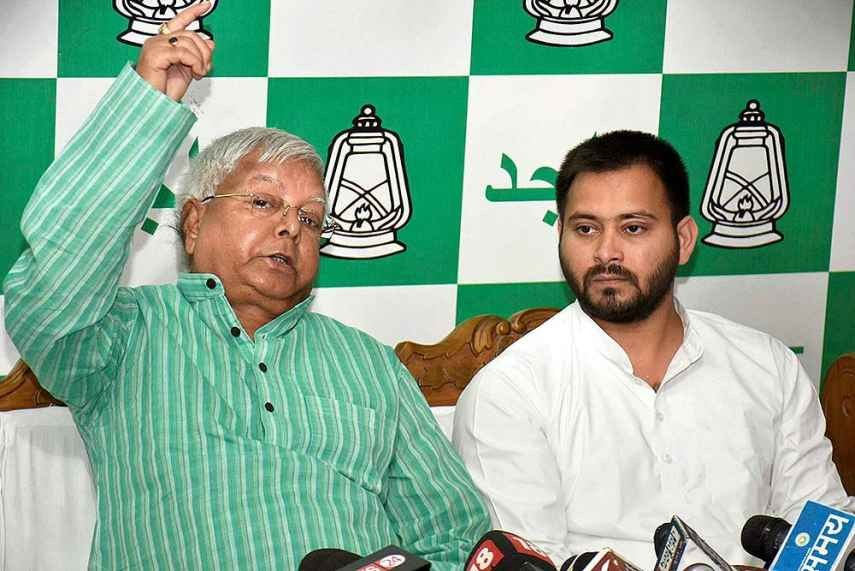 Legal Notice Sent To Lalu, Tejashwi For 'Objectionable Comments' Against Nitish In Bhagalpur Rally