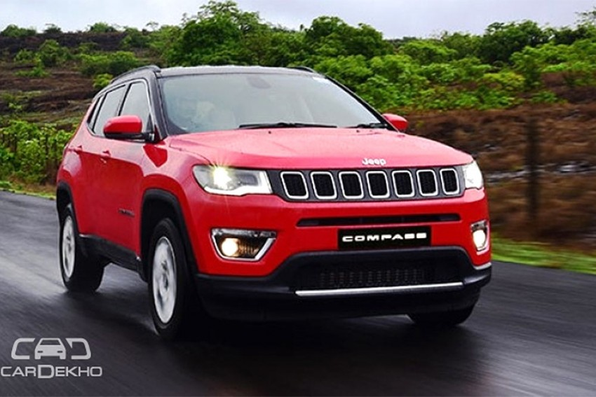 Jeep Compass Prices Increase Post GST Cess Hike
