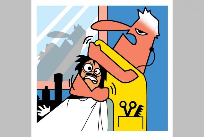 Barber's Neck-Crack Ritual At End Of Head Massage Lands Delhi Man In Hospital With Ruptured Nerves