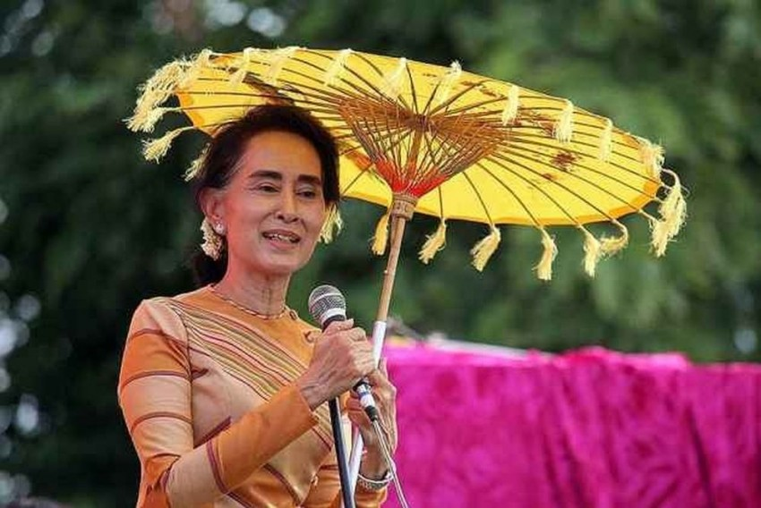 Myanmar Leader Suu Kyi Explains Why She Didn't Name 'Rohingyas' In State Address