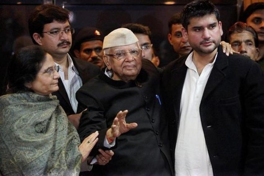 Former Union Minister ND Tiwari Suffers Brain Stroke, Hospitalised, Says Son Rohit Shekhar