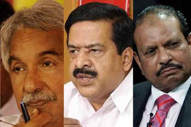V K Sasikala, Top Congress Leaders And Business Tycoon Yussuf Ali