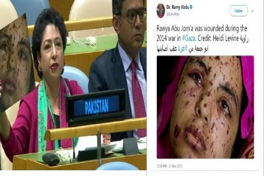 Pakistan's Big Blunder At UN: Uses 2014 Gaza War Picture As Face Of 'Indian Democracry'