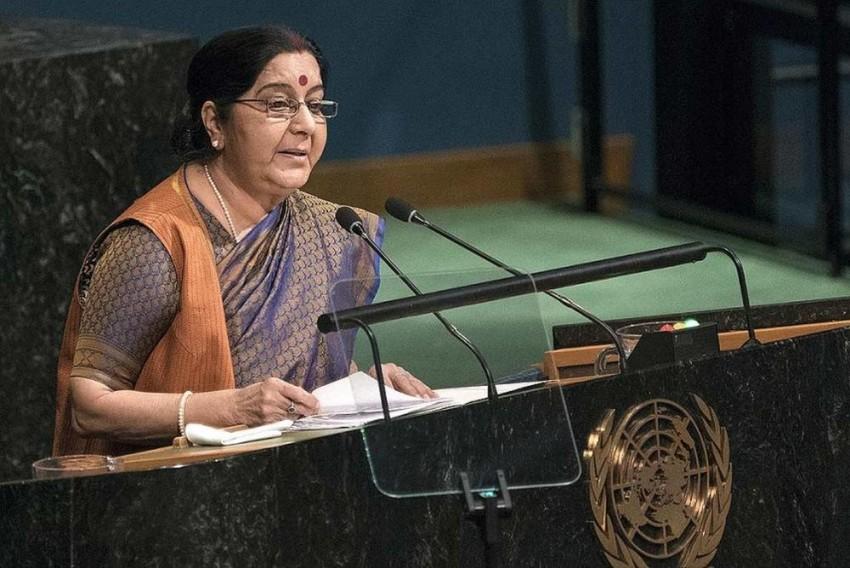 Swaraj's UN Speech 'Arrogant', 'There Is Indeed Terrorism In Pakistan': Chinese Media