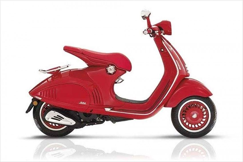 Piaggio To Launch Vespa RED On October 3rd