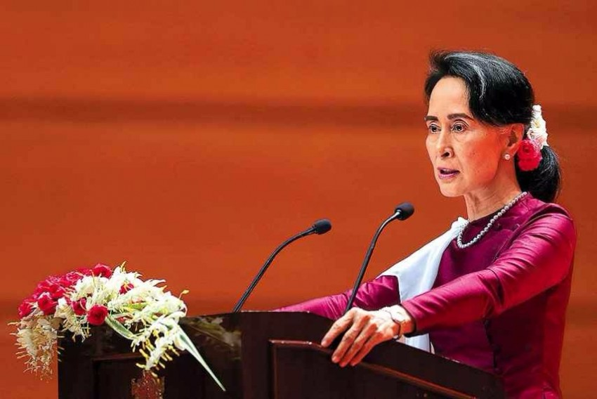 Oxford Removes Suu Kyi's Portrait After Rohingya Criticism