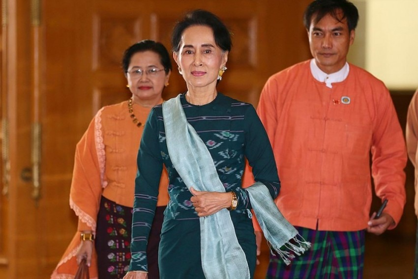 Rohingyas Issue Is Similar To India's Kashmir Issue, Says Myanmar's Suu Kyi