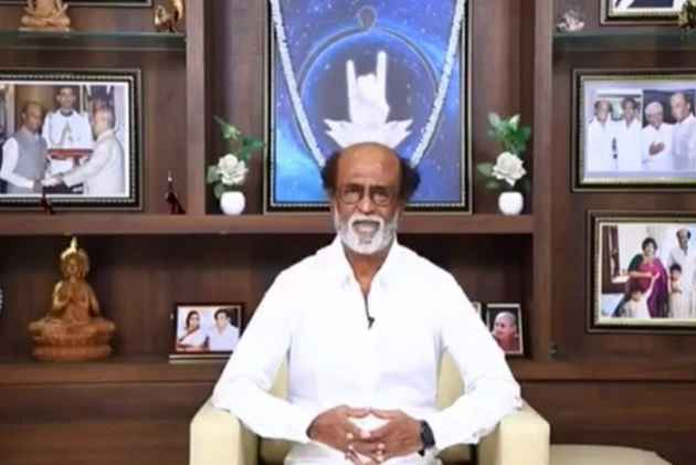 Watch: Rajinikanth Launches Party Logo, Website And App In New Year Day Message