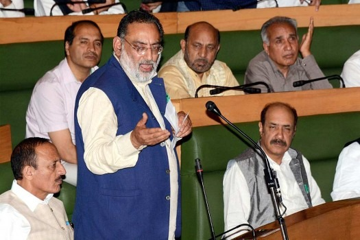 State Finance Minister Drabu Presents Rs 80,000 Cr Budget, Calls It A Major Step Towards Making J&K A Welfare State