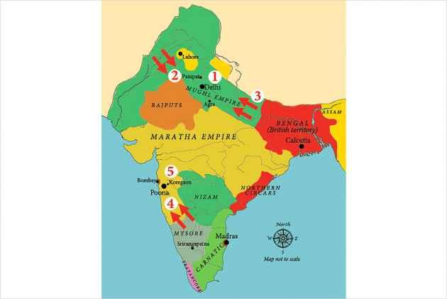 Decline Of  The Maratha Empire