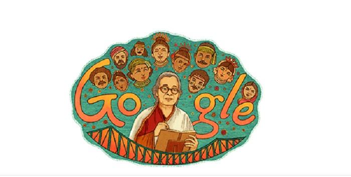 Google Pays Tribute To Eminent Bengali Writer-Activist Mahasweta Devi On Her 92nd Birth Anniversary