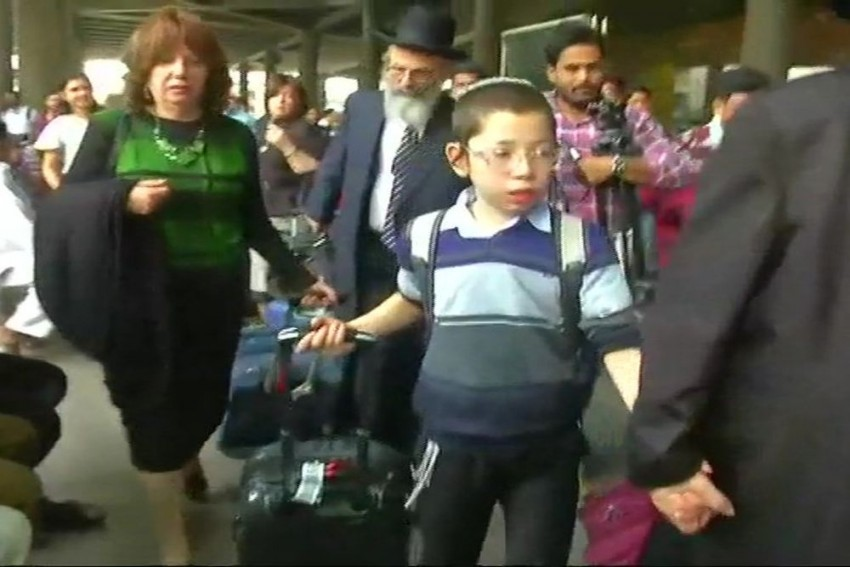 Moshe Holtzberg, Who Lost His Parents In 26/11 Attacks, Arrives In Mumbai
