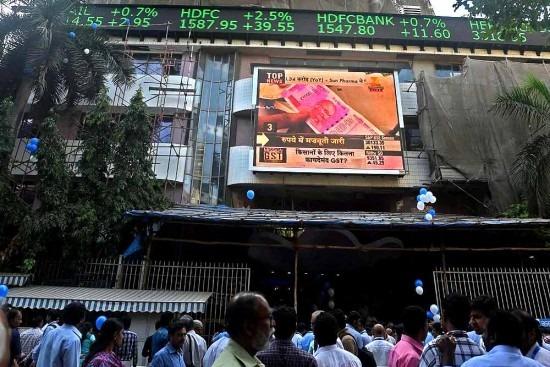 Sensex Hits Record 35,000 Mark As IT Stocks Lead Gains