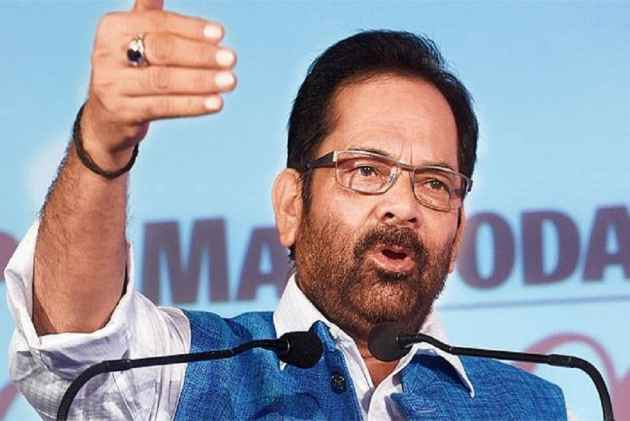 'Not Opposing PM Modi Gives Some People Stomach Ache': Naqvi Condemns Opposition's Criticism Over Withdrawal Of Haj Subsidy