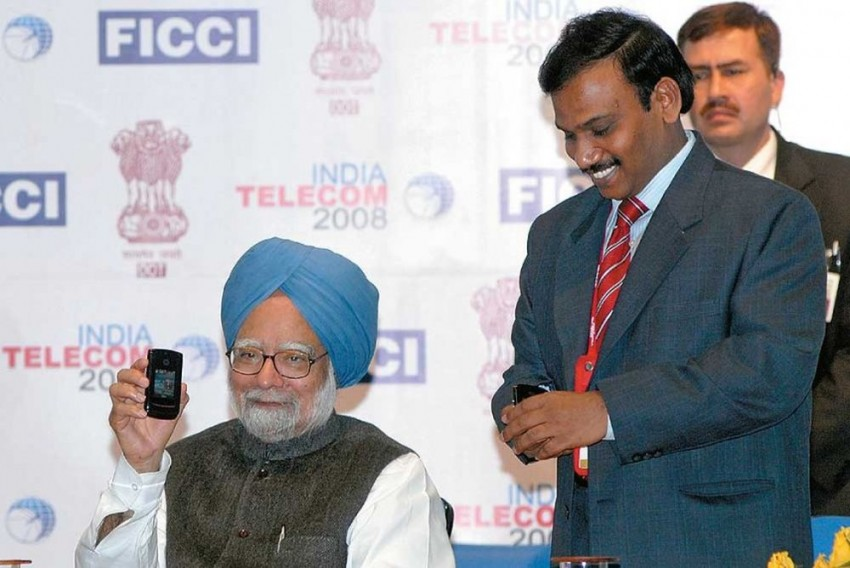 '2G Saga Unfolds', In A Tell-All Book, Former Telecom Minister A Raja Questions 'Palpable Silence' Of Manmohan Singh On 2G Policy