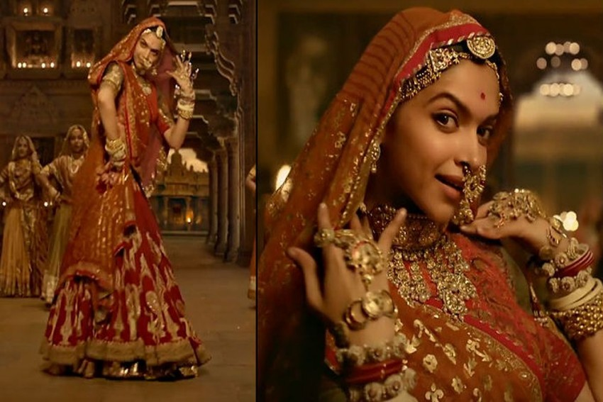 Going Viral: Deepika Padukone's Midriff Covered In New Version Of 'Ghoomar'