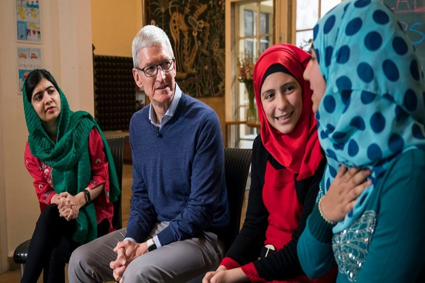 Apple Partners With Malala Fund To Help Girls' Receive Equal Education