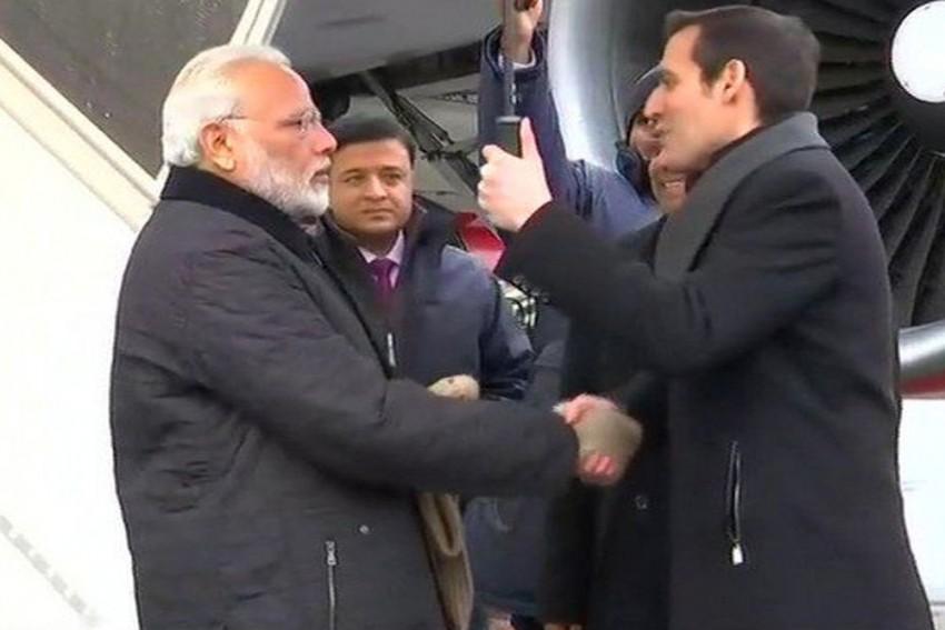 World Economic Forum: PM Modi Arrives In Zurich