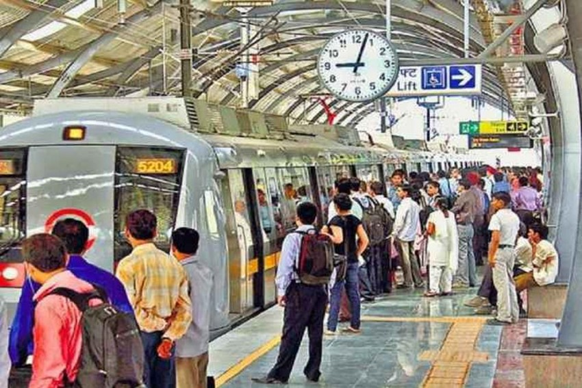 UP Woman Held With 20 Bullets In Delhi Metro