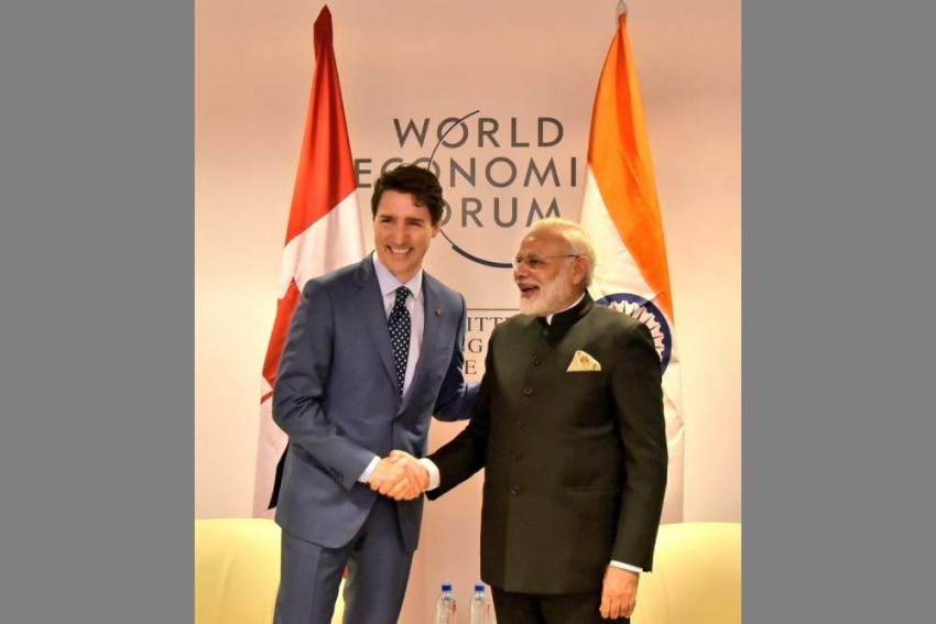 Modi Meets Trudeau, Discusses Issues Of 'Mutual Interest'