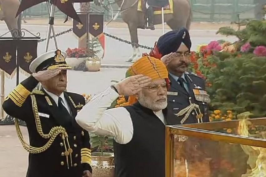 India Celebrates 69th Republic Day
