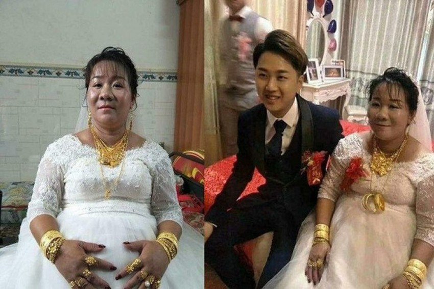 Chinese Woman Pays 5 Million Yuan To Marry A Man 15 Years Younger