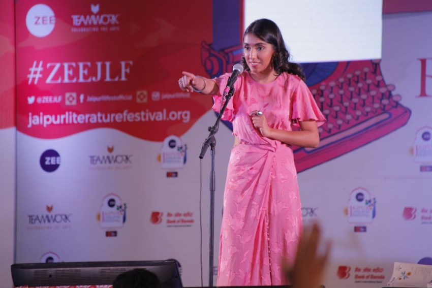 JLF: Rupi Kaur Says Her Poems Are To Read Aloud, Urges Fans To Perform Even If They Are Alone