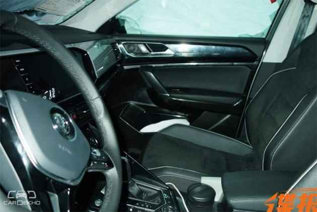 VW T-Cross Interior Spied For The First Time