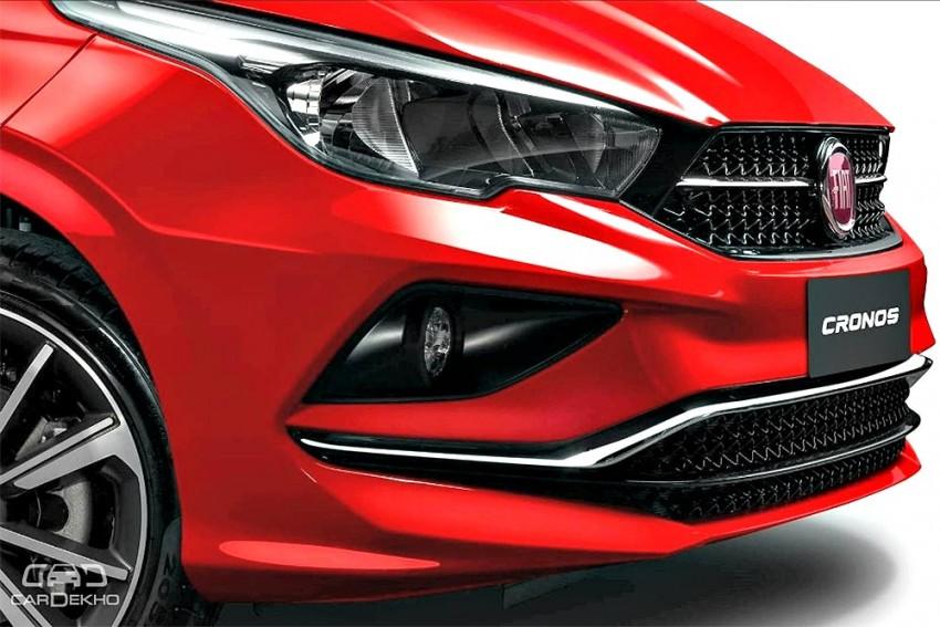 Fiat Cronos Interior Revealed