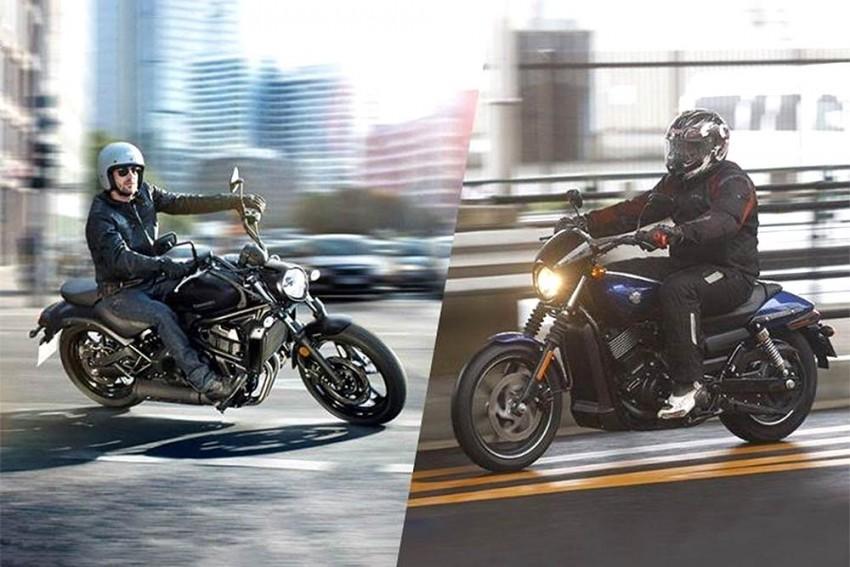Kawasaki Vulcan S vs Harley-Davidson Street 750 Spec Comparo
