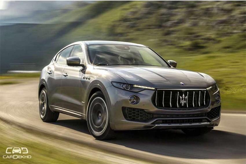 Maserati Levante SUV Launched In India At Rs 1.45 Crore