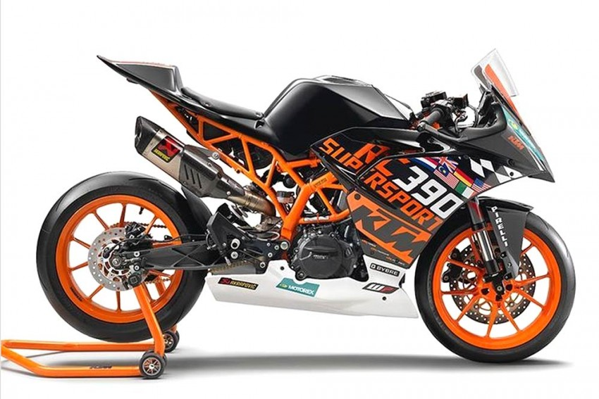 KTM RC 390 R Launched